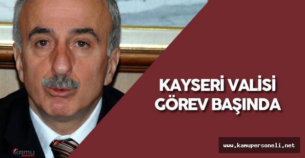 Süleyman Kamçı Kayseri'de Görevine Başladı