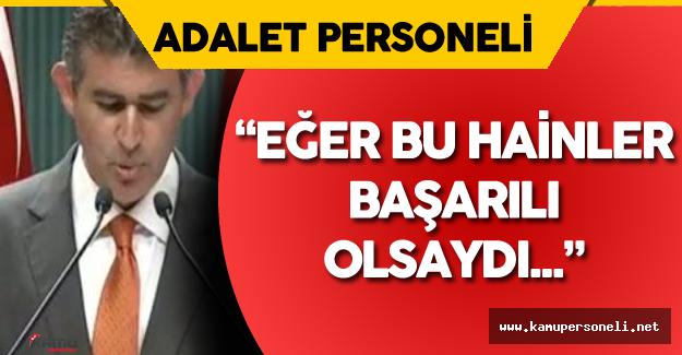"""TBB Başkanı Metin Feyzioğlu :"""" Demokrasi İçin Göreve Her Zaman Hazırız"""" Dedi"""
