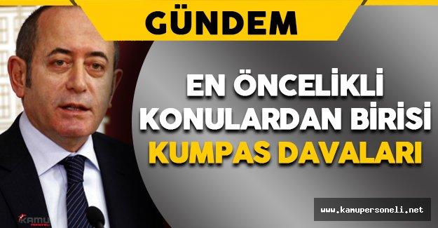 """TBMM Başkanvekili Hamzaçebi: """"Kumpas Davaları En Öncelikli Konulardan Birisidir"""""""