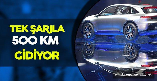 Tek Şarjla 500 KM Giden Elektrikli Mercedes