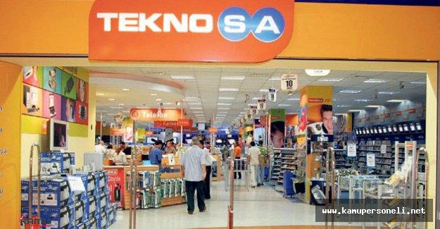 TeknoSA 1 günde 2 mağaza açtı