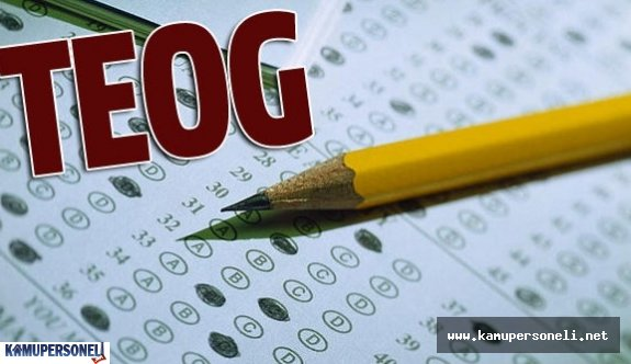 TEOG Sınavında Öğrencilerin Dikkat Etmesi Gereken Hususlar