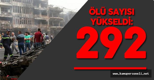 Terör Saldırısında Hayatını Kaybedenlerin Sayısı 292'ye Yükseldi
