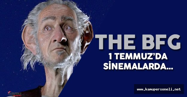 The BFG 1 Temmuz'da Sinemalarda ( The BFG Film Fragmanı)