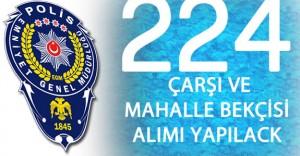 Hakkari Valiliği 224 Çarşı ve Mahalle Bekçisi Alacak