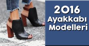 2016 Model Ayakkabılar deri uygulamaları ile yenilenerek geliyor