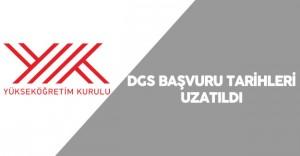2016 DGS Başvuru Tarihleri Uzatıldı