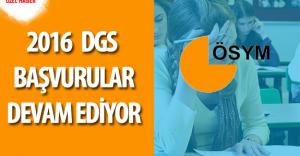 2016 DGS için Başvurular Devam Ediyor ( Sınav Ücreti Ne Kadar , Başvuru için Son Tarih)