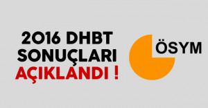 2016 KPSS Din Hizmetleri Alan Bilgisi Testi (DHBT) sonuçları açıklandı !