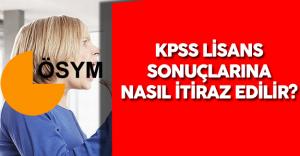 2016 KPSS Lisans Sonuçları için İtiraz İşlemleri Nasıl Yapılır?
