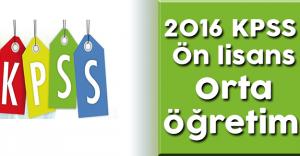 2016 KPSS Ön lisans – Ortaöğretim Sınavları Ne Zaman Yapılacak? Başvurular Başladı mı?