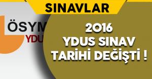 2016 Tıpta Yan Dal Uzmanlık Eğitimi Giriş  (YDUS) Sınav Tarihi Değişti !