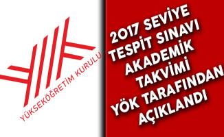 2017 Seviye Tespit Sınavı Akademik Takvimi YÖK Tarafından Açıklandı