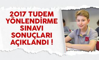 2017 TUDEM yönlendirme sınavı sonuçları açıklandı