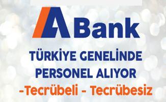 A Bank Tecrübeli Tecrübesiz Personel Alıyor