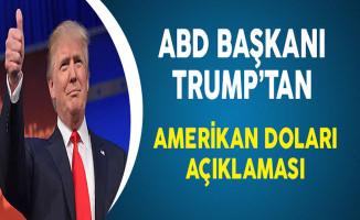 ABD Başkanı Trump'tan Amerikan Doları Açıklaması