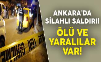 Ankara'da Silahlı Saldırı! ( Ölü ve Yaralılar Var)