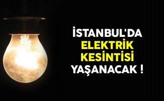 BEDAŞ İstanbul'da elektrik kesintisi yapacak