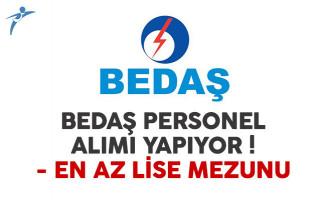 BEDAŞ personel alımı ilanı yayımlandı