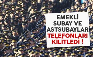 Emekli subay ve astsubaylar Milli Savunma Bakanlığı'nı telefon yağmuruna tuttu