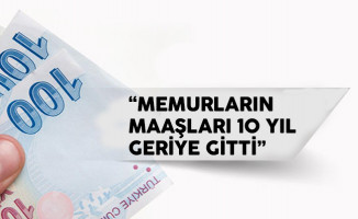 İsmail Koncuk: 'Memur maaşları 10 yıl geriye gitti'