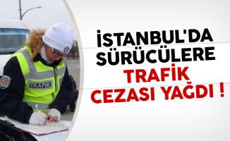 İstanbul'da sürücülere trafik cezası yağdı
