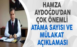 MEB İnsan Kaynakları Genel Müdürü Aydoğdu'dan Çok Önemli Atama Sayısı ve Mülakat Açıklaması