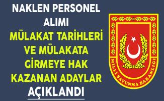 Milli Savunma Bakanlığı (MSB) Müfettiş Alımı Mülakatına Girmeye Hak Kazanan Adaylar Açıklandı !