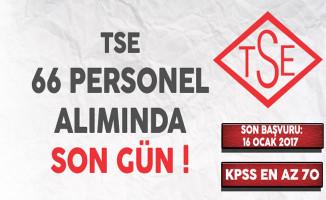 Türk Standartları Enstitüsü (TSE) 66 Memur Alımı Başvurularında Son Gün !