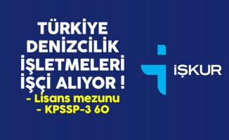 Türkiye Denizcilik İşletmeleri (TDİ) İşçi Alımı Devam Ediyor