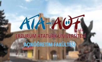 Atatürk Üniversitesi AÖF Ders Kayıt Süresi Sona Eriyor!