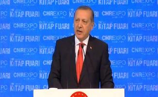 Cumhurbaşkanı Erdoğan CNR Kitap Fuarı'nda Konuşma Yaptı