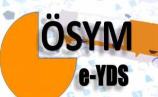 e-YDS 2017/2 Sınav Sonuçları ÖSYM Tarafından Açıklandı