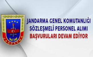 Jandarma Genel Komutanlığı Sözleşmeli Personel Alımı Başvuruları Devam Ediyor
