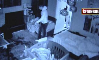 Şoke Eden Olay! Yatak Odasında Hırsızla Göz Göze Geldi