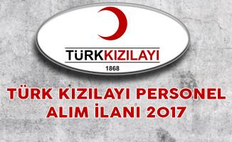 Türk Kızılayı Personel Alım İlanı 2017