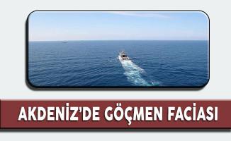 Akdeniz'in Libya Açıklarında Göçmen Faciası