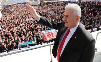 Başbakan: Anayasa Değişikliği Erdoğan İçin Değil, Her Doğan İçindir