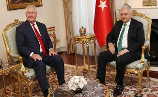 Başbakan Yıldırım ile Tillerson Görüşmesi Sona Erdi ! FETÖ ve DEAŞ Konuları Görüşüldü