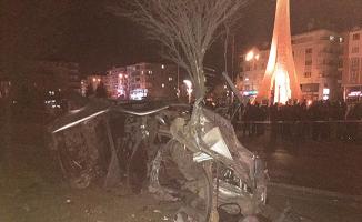 Başkent Ankara'da Feci Kaza! Beton Mikseri İle Otomobil Çarpıştı: Ölü ve Yaralı Var