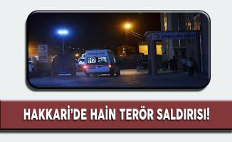 Hakkari'de Hain Terör Saldırısı! Şehit ve Yaralılar Var