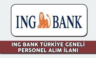 ING Bank 2017 Personel Alım İlanı