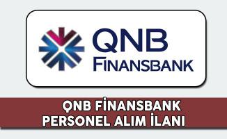 QNB Finansbank Personel Alım İlanı