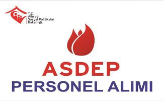 Sinop Aile ve Sosyal Politikalar İl Müdürlüğü ASDEP Alım İlanı