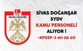 Sivas Doğanşar SYDV Personel Alım İlanı