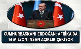 Cumhurbaşkanı Erdoğan: Afrika'da 14 Milyon İnsan Açlık Çekiyor