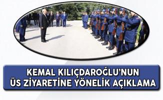 Hava Kuvvetleri Komutanı'ndan Kemal Kılıçdaroğlu'nun Üs Ziyaretine Yönelik Açıklama!