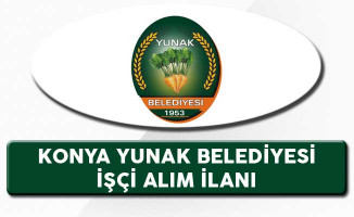 Konya Yunak Belediyesi İşçi Alım İlanı