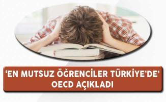 OECD Açıkladı: En Mutsuz Öğrenciler Türkiye'de