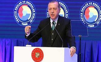 Cumhurbaşkanı Erdoğan'dan Önemli Yüksek Faiz Açıklaması